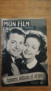 MON-FILM-N-35-1947-GISELE-PASCAL-JEAN-DESAILLY-AMOURS-DELICES-ET-ORGUES-J-DAY