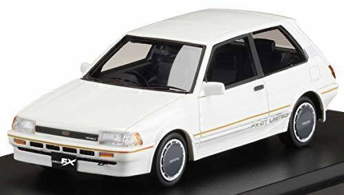 Hobbyjapan MARK43 1//43 Toyota Corolla Fx-Gt Limitierte AE82 Weiß 196963