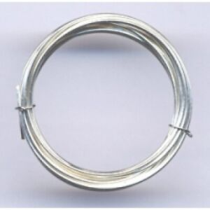 FB0505 925 Sterling Silver Bezel Wire 300 x 5mm x 0.50mm Thick Making Settings