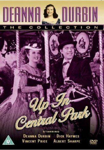 1 of 1 - Deanna Durbin the collection Up In Central Park DVD Dick Haymes, Vincent Price