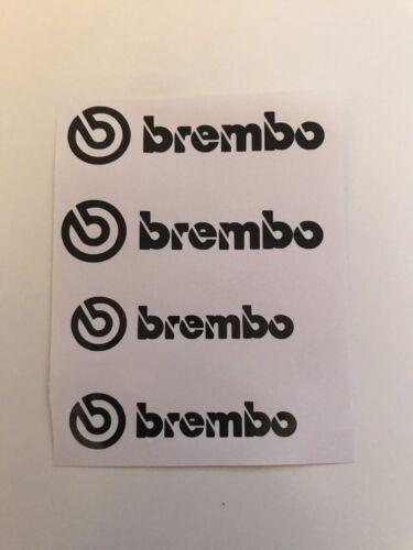 X4 Brembo étrier De Frein Autocollant//Décalques