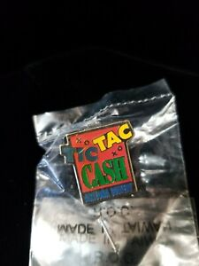 Details about Arizona Lottery Tic Tac Cash Trading Pin Hat Lapel Tie Tack  XO XO