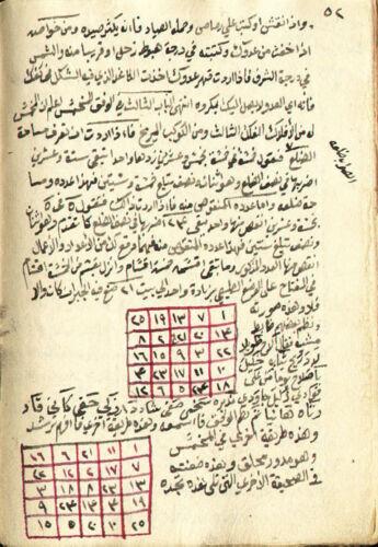 15 TITLES DIGITAL ARABIC MANUSCRIPT ILLUSTRATED OCCULT NUMEROLOGY MAGIC