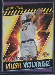 2020-21 PANINI HOOPS HIGH VOLTAGE LEBRON JAMES LAKERS #15