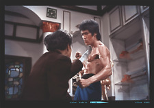 BRUCE LEE FOREVER VERY LIMITED LARGE UNFOLDED RARE 'ENTER THE DRAGON' POSTER