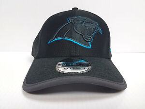 2ac98a420 Image is loading Carolina-Panthers-Cap-New-Era-39Thirty-Stretch-Hat-