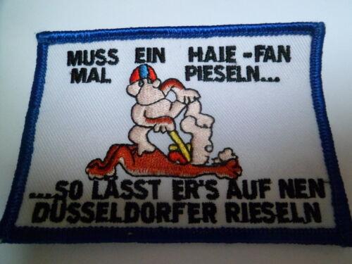 Weitere Wintersportarten Anti DEG Aufnäher Anti Düsseldorf  KEC Haie Krefeld KEV Iserlohn Roosters Eishockey