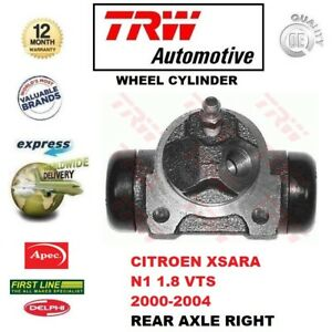 FOR CITROEN XSARA N1 1.8 VTS 2000-2004 1x REAR AXLE Right WHEEL CYLINDER for ABS