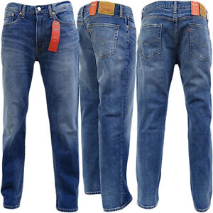 hot-selling fashion official sale catch Details about Levi's Men's 514 Straight Fit Stretch Jeans Stonewash Stretch