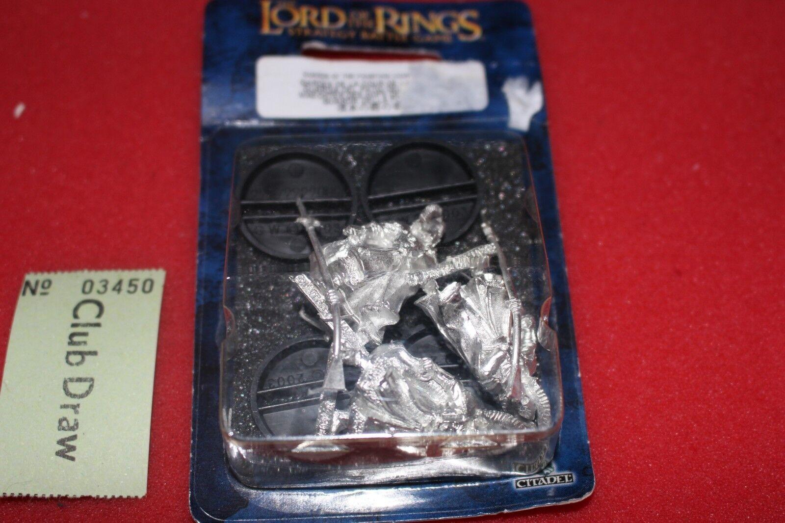 Games Workshop Lord of the Rings Fountain Guards BNIB LoTR Metal Figures Gondor