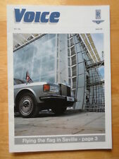 BENTLEY & ROLLS ROYCE Voice Magazine - Rare in-house brochure - 1992 Issue 10