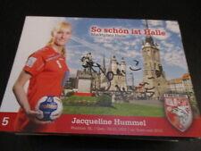 66340 Jacq. Hummel Wild Cats Halle Handball original signierte Autogrammkarte