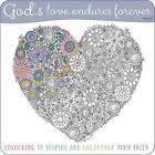 Adult Coloring Book: God's Love Endures Forever: Inspirational Colouring Book by Make Believe Ideas (Paperback, 2016)