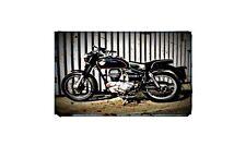 1960 royal enfield clipper Bike Motorcycle A4 Retro Metal Sign Aluminium