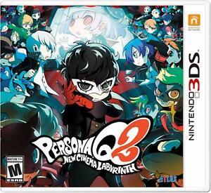 Persona Q2: New Cinema Labyrinth - Nintendo 3DS [ATLUS Phantom Thieves RPG] NEW