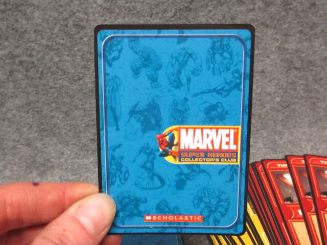 200 cards Marvel Super Heroes Collectors Club Trading Card Game 4 Pack