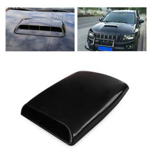 auto lufthutze lufteinlass motorhaube dach luftstrom deckel schwarz universal ebay. Black Bedroom Furniture Sets. Home Design Ideas