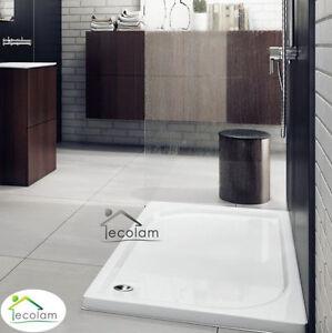 duschwanne duschtasse rechteck flach dusche 120 x 80 x 5. Black Bedroom Furniture Sets. Home Design Ideas