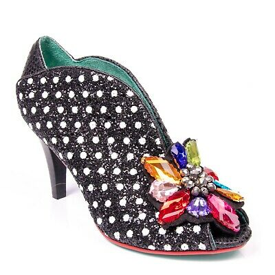 Poetic Licence By Irregular Choice Poetic Poppy High Stiletto Heel Shoes