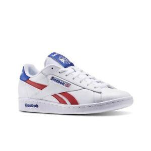 0a3cef65b579 Reebok Npc Uk Retro (WHITE COLLEGIATE ROYAL EX) Men s Shoes AR2786 ...