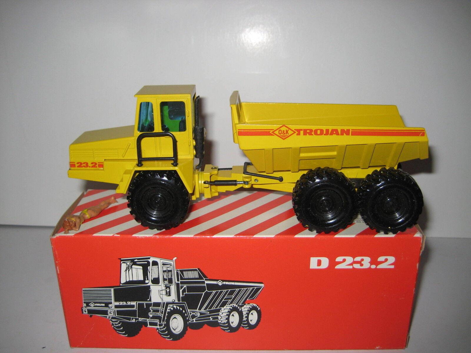 O&k D  23.2 Dumper Trojan  301.2 NZG 1 50 OVP  boutique en ligne