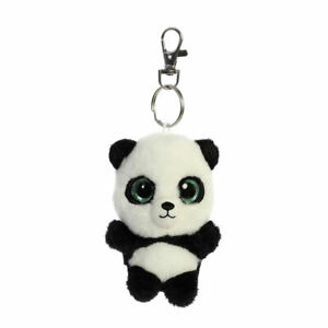 Aurora-World-Plush-YooHoo-Friends-Clip-On-RING-RING-the-Panda-3-5-inch