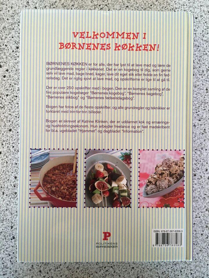 Børnenes køkken, Katrine Klinken, emne: mad og vin