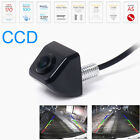 HD Black CCD Car Rear View Side Front Color Night Vison BACKUP Camera Waterproof