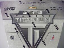 2011-12 Panini Titanium Hockey Sealed Hobby Box