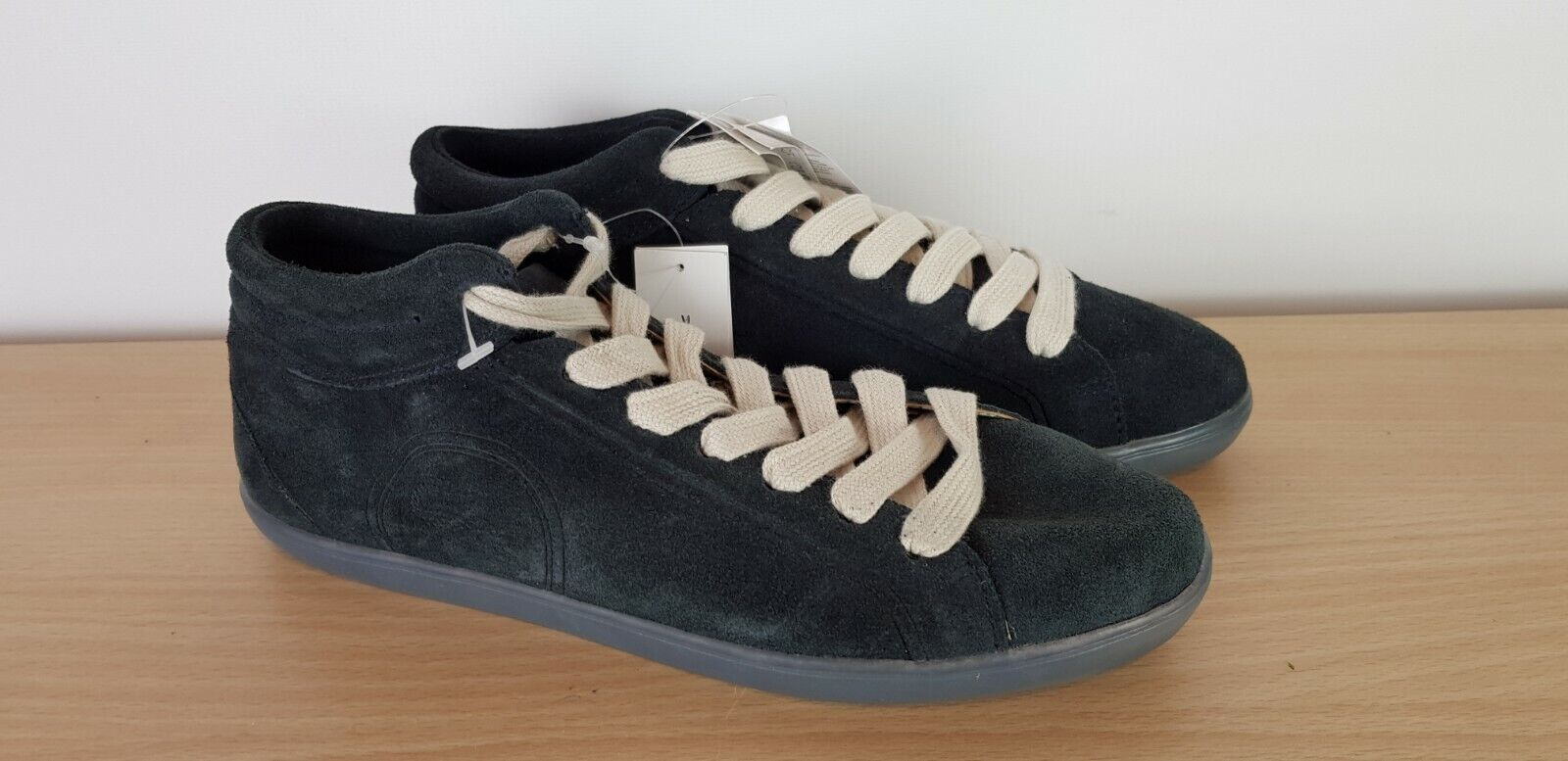 Lacoste Ladies Helaine Mid Charcoal Suede Casual Ankle Boots Trainers