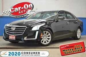 2016 Cadillac CTS 3.6L Luxury Collection AWD NAV PANO ROOF LOADED