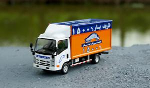 1-64-ISUZU-Alloy-casting-model-Iran-transport-delivery-truck-model-3-spraying