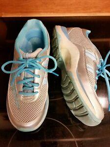 Dansko-Women-039-s-Sz-EU-37-US-6-5-Blue-Silver-Gray-Sneakers-Walking-Shoes-lace-up