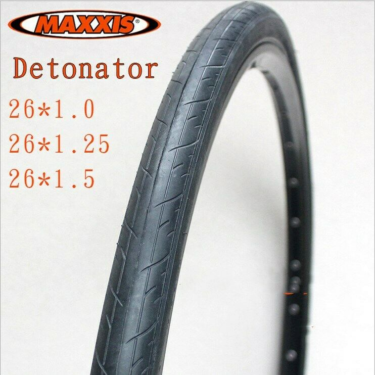 1 Pair  Maxxis Detonator Tyres 26x 1.0 1.25 1.5  Road Bike Durable Tires Premium