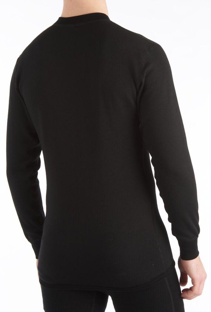 Aclima Aclima Aclima Hotwool Shirt Crew Neck XL XXL schwarz Funktionswäsche 230g Man Woman uni 357a8a