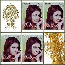 4 Boxes. Pure Herbal Henna. Golden Hair Color. 100g Ea.