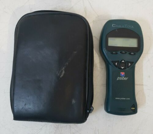 Psiber Data Systems Cable Tool With Manual and Case we have 3 available