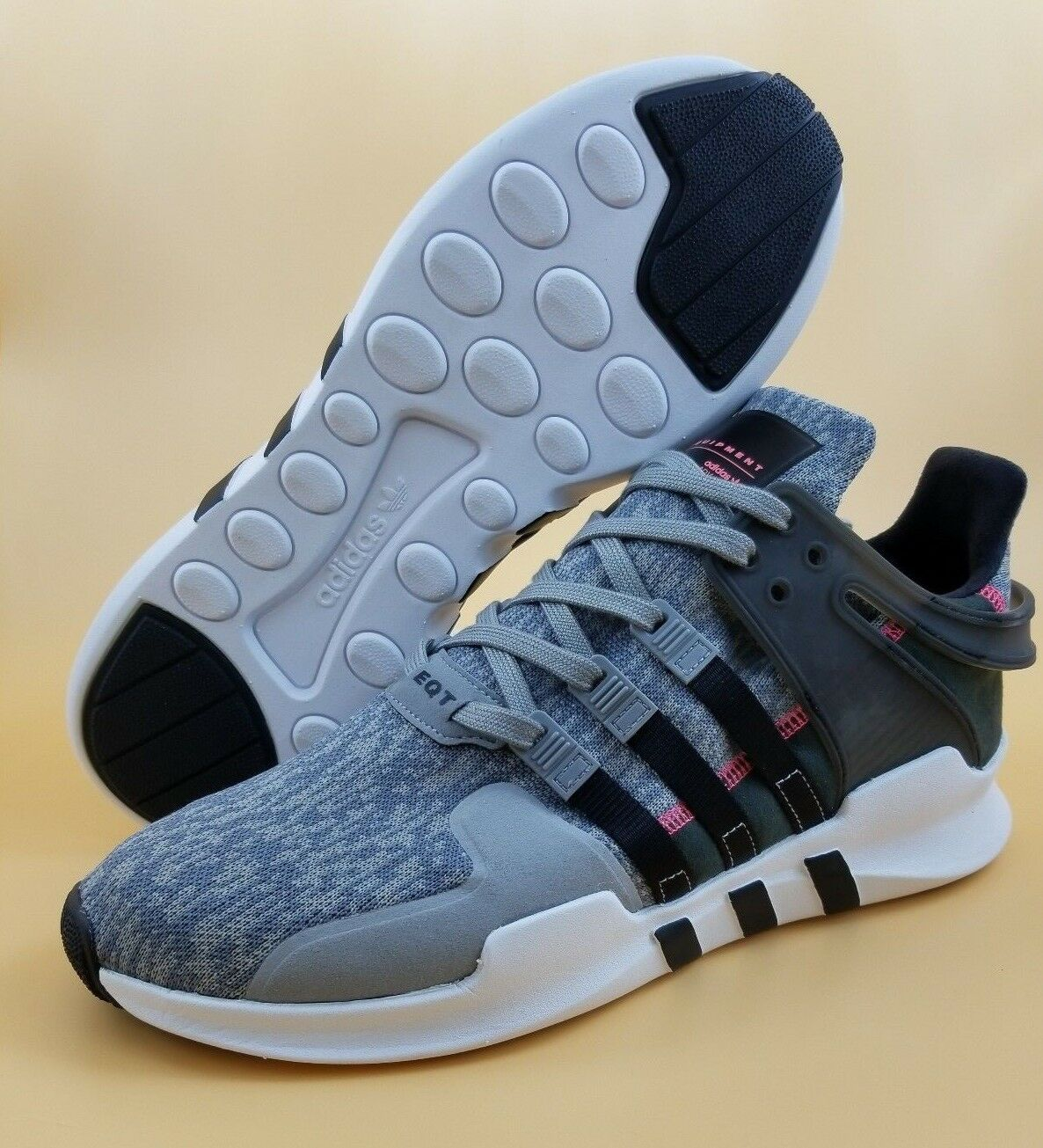 Adidas EQT Support ADV Men Running Shoes Grey Pixel S76963 $140