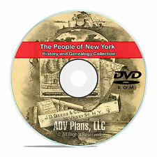 New York NY, People, Civil War History and Genealogy 126 Books DVD CD B25