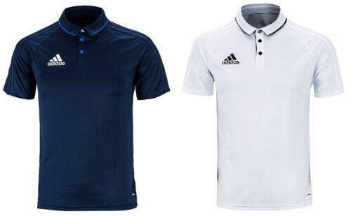Adidas Men Tiro 17 Polo Jersey Training shirt Climalite White Tee Shirts BQ2626