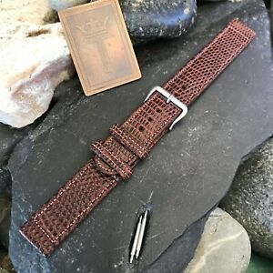 rare-Elgin-Signed-Buckle-amp-Lizard-ORD-A-17A-nos-Vintage-Watch-Band-5-8-034-16mm