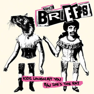 THE-BRIEFS-KIDS-LAUGH-AT-YOU-TAKEN-BY-SUPRISE-RECORDS-VINYLE-NEUF-NEW-SINGLE
