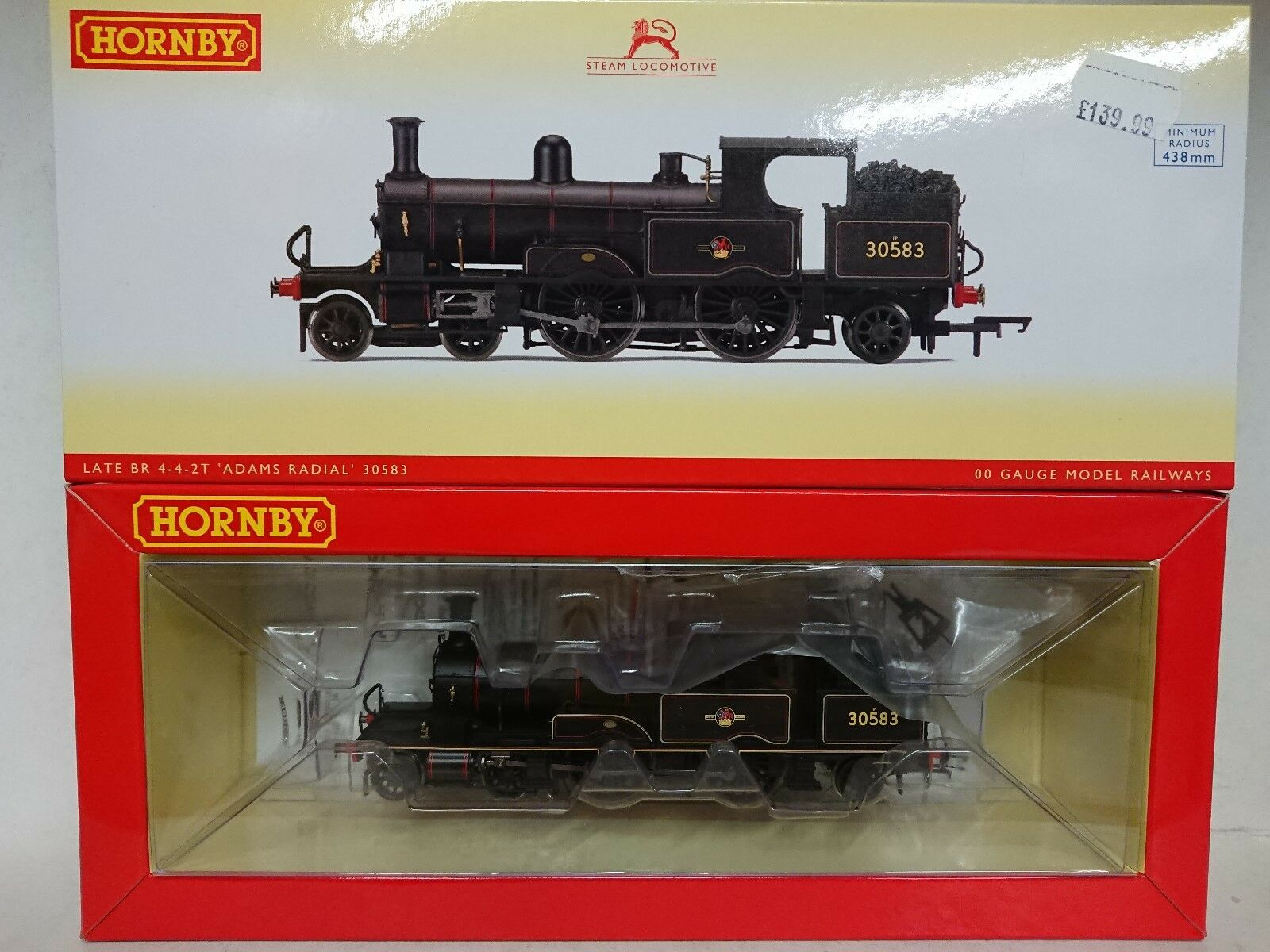 Hornby R3423 BR Late 442T ADAMS RADIAL 30583 DCC Ready nuovo