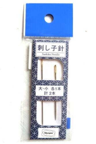 Sashiko Needles a Pack of 2 Olympus Made in Japan