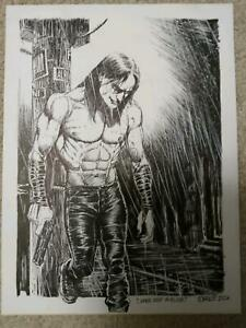 JAMES O'BARR CROW  COVER QUALITY ORIGINAL ART- BECOMING HARDER TO FIND!!!