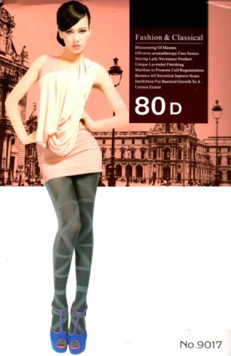 Women Ladies High Quality  Fashionable Multi Styles Gilrs Tights 80 Denier lot