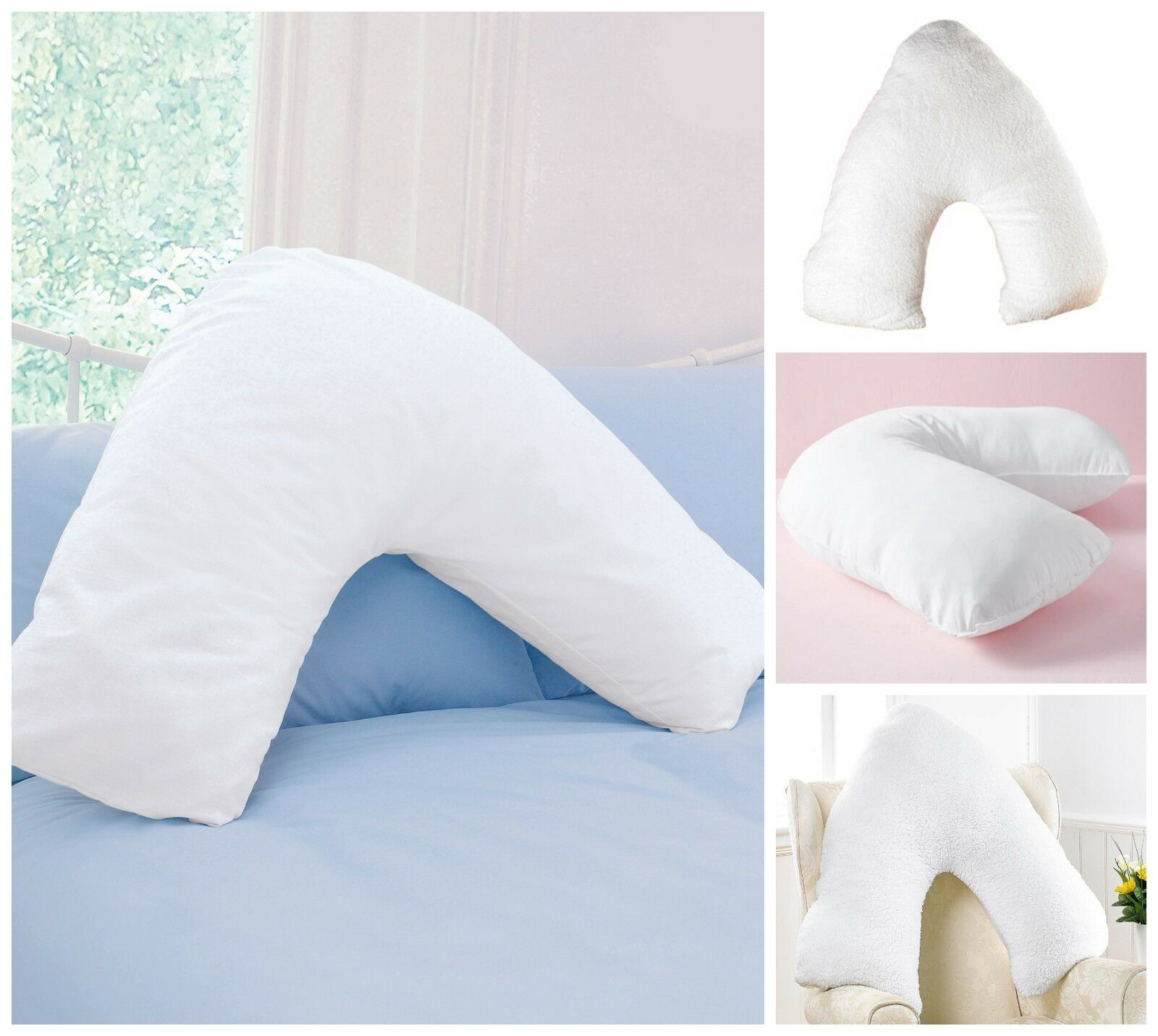 Back Neck Nursing Support Orthopedic Pregnency V Shaped Pillow Maternity