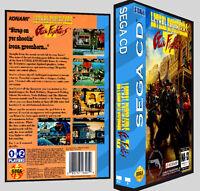 Lethal Enforcers Ii Gun Fighters - Sega Cd Reproduction Art Dvd Case No Game