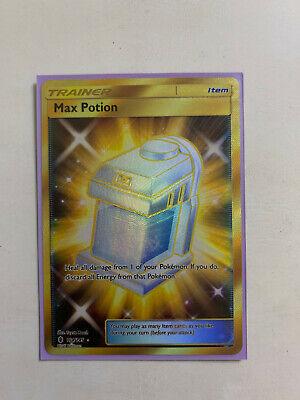 164//145 Secret Rare NM Sun /& Moon Guardians Rising Max Potion