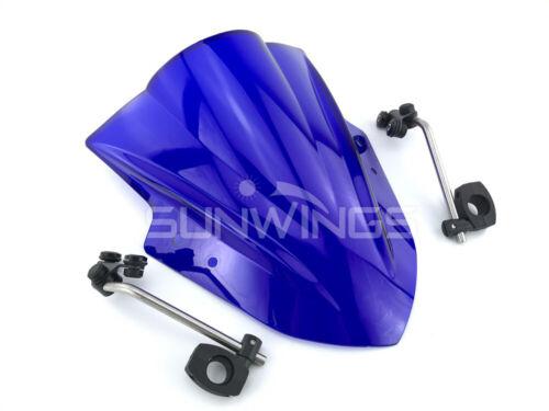 Windscreen With adjustable bracket Wind Screen For Yamaha MT125 FZ1 FZ6 FZ8 FZ8N